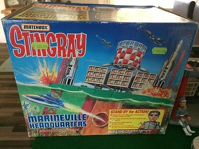 VINTAGE BOXED Stingray Marineville Headquarters Matchbox VGC COMPLETE