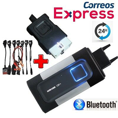 Diagnosis Multimarca Bluetooth Obd Ecu Vci+Kit Cables Obd2 Escaner Coche Camion