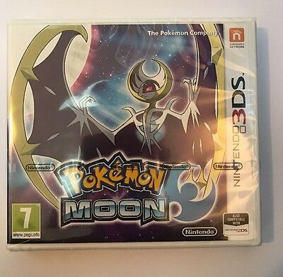 Pokemon Moon (Nintendo 3DS, 2016)