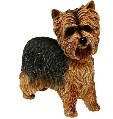 Yorshire Terrier Yorkie Standing Figurine Collectable Dog Ornament