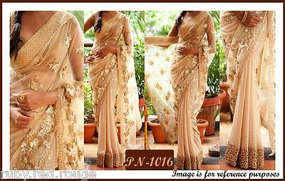 ACTUAL PICTURES LISTED- Indian Bollywood Elegant Designer saree