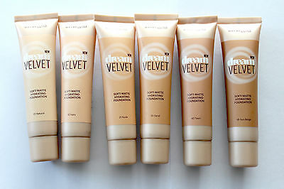 Maybelline Dream Velvet Soft-Matte Hydrating Foundation - Please Choose Shade: