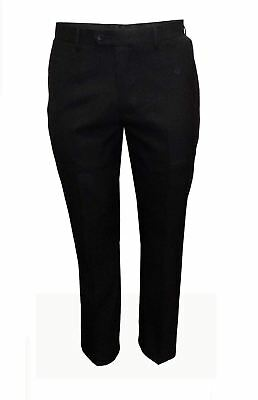 Mens Formal Classic Fit Suit Trousers in Black (Felix) in Waist 44 to 60, S/R