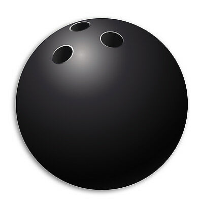 Mouse Pad - BOWLING BALL - mousemat - mousepad - round