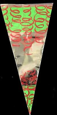f646a58bc0c5e9 Printed Party Cone Sweet Candy Empty Bags Birthday/Wedding 180 x 370mm G/