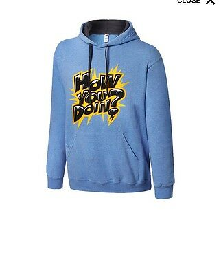 WWE Enzo And Big Cass Hoodie Xl Brand New