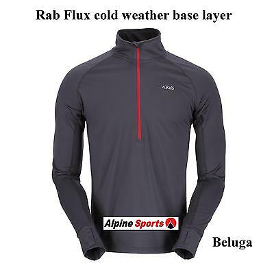 Rab Flux Pull on Quick Drying cold weather Base Layer or summer mid layer