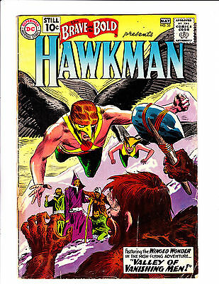 Brave And The Bold  No.35    : 1961 :    : 2nd App Hawkman! :