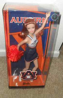 BARBIE COLLECTOR 2012 AUBURN UNIVERSITY TIGERS NEW doll Cheerleader