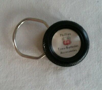 Vintage Collectibles Phillips 66 Gas Oil Tire KeyChain