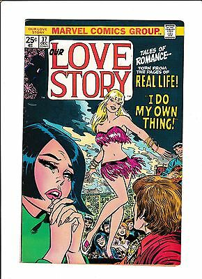 "Our Love Story #37  [1975 Vg+]  ""i Do My Own Thing!"""