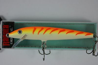 Rapala Floating Original // F09OTU // Orange Tiger UV 9cm 5g Fishing Lure