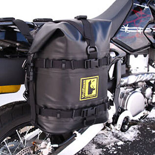 Wolfman Luggage Expedition Dry Saddle Bags Pair Black For All Racks NEW