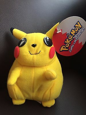 POKEMON pikachu soft toy- NEW AND UNUSED 6.5IN