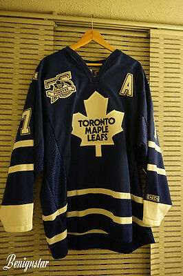 Gary Roberts Signed Toronto Maple Leafs CCM Ice Hockey Jersey