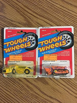 2 1/80 Kidco Tough Wheels Construction  Vehicles, Cat and Scraper