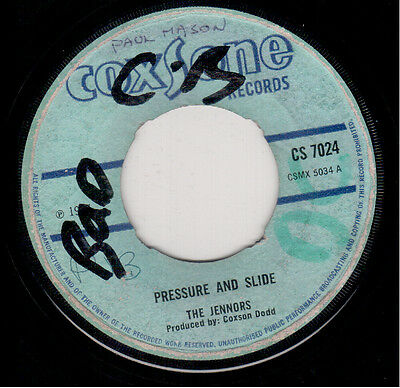 Tennors - Pressure And Slide / Soul Brothers - One Stop - Coxsone