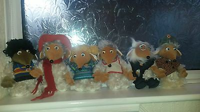 Set Of 6 Wombles