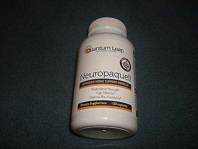 Neuropaquell. Clinical Strength Neuropathy Pain Relief. Advanced Nerve Support