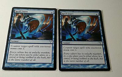 Magic the Gathering MTG - Spell Snare (Dissension) (N/M) x 1