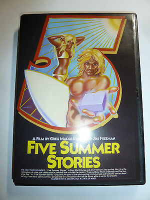 Five Summer Stories DVD cult classic 70s surfing video surf movie retro RARE!