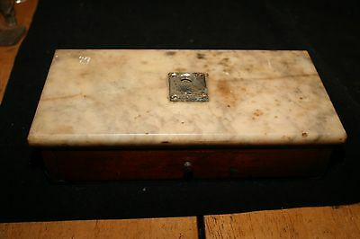 Antique Henry Troemner Apothecary Marble Base Scale for parts
