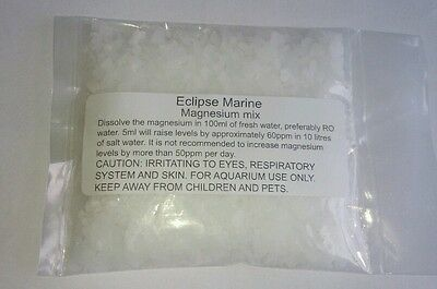 Magnesium sulphate/chloride mix. Reef magnesium mix, epsom salt. Marine additive