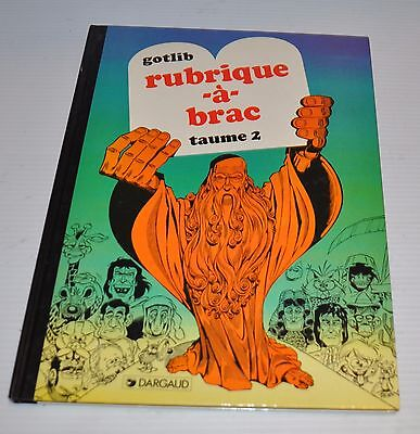 GOTLIB Rubrique-a-Brac #2 BD French Comic Book GOTLIB 1994