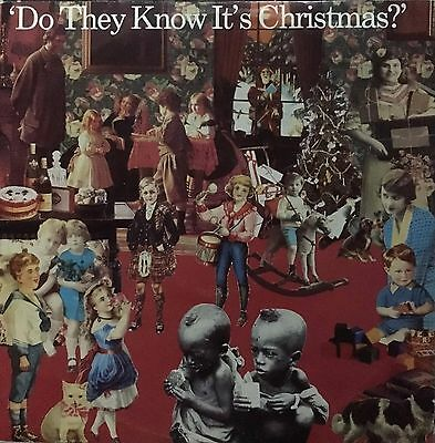 """Various Artists - Do They Know It's Christmas 12"""" LP Vinyl  VG 1984  FEED112"""