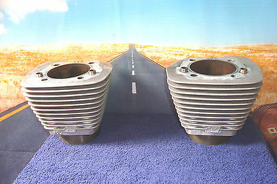 "CYLINDERS ""Jugs""  Pair S&S Cycle 3.60"" HARLEY Fits Sportster '86-'03 Buell  X1"