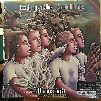 King Crimson, A Scarcity Of Miracles, 200 Gram Vinyl Lp Uk Audiophile