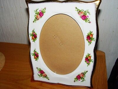 """Royal Albert Old Country Roses picture frame 9"""" x 7"""""""