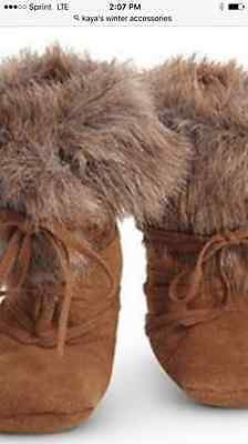 American Girl Doll KAYA winter accessories MOCCASINS boots only