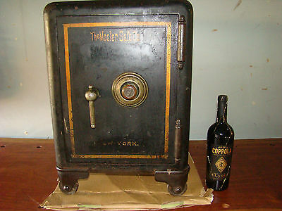 Antique Mosler Safe Early 1900's Opened  Guns Pistols Revolers