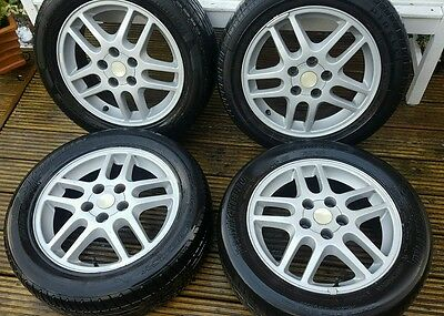 """Vauxhall Vectra sri 16"""" Alloy Wheels and tyres 205/55r16"""