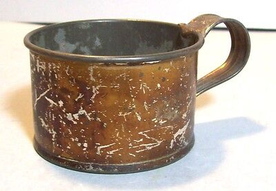 Antique Tin Cup From 1800's, Our Pet