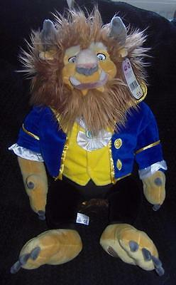 "BNWT LARGE 22"" DISNEY STORE BEAUTY & THE BEAST DOLL Plush Soft Toy"