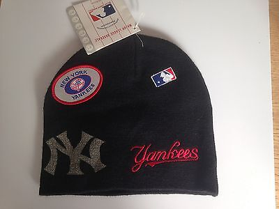 New York Yankees Hat Official MLB Merchandise Black One Size Fits All New