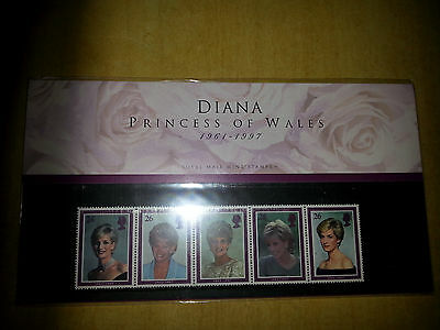 Royal Mail  Mint Stamps Diana Princess Of Wales Presentation Pack