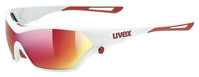 Uvex Sportstyle 705 Sportbrille - white red