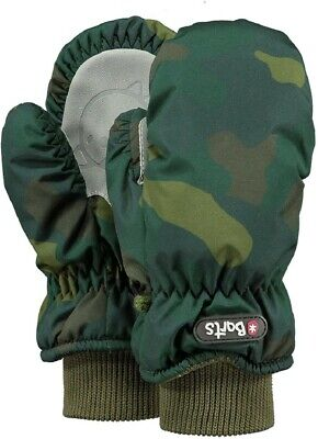 Barts Nylon Mitts Kinder Handschuhe Fausthandschuhe - camo green