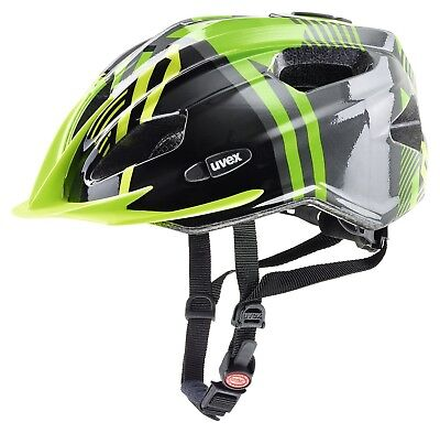 Uvex Quatro Junior Fahrradhelm - green-anthracite