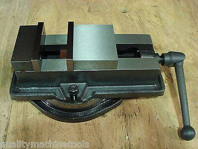"4"" Milling Machine Vise, Swivel Base"