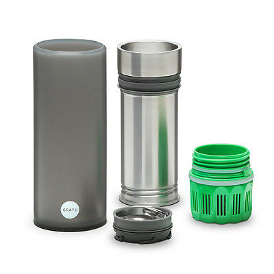Grayl Quest Water Filtration Cup w/ Trail Filter - Grey 211255