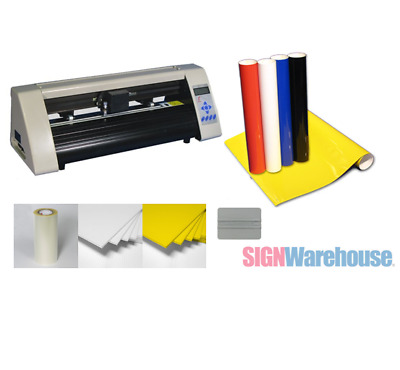 "19"" Desktop Starter Pkg Vinyl Cutter Software Vinly Sign Plotter Great Starter"