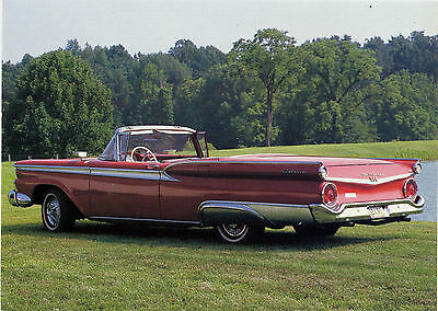 American Automobiles Of The Fifties ~ Ford Fairlane 500 Skyliner.1959.