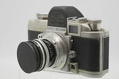 ALPA ALNEA Model 7 w/Kern Aarau SWITAR 1:1.8/50 AR Lens and Case
