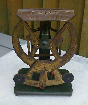 Antique Small German Bialeral Postal~Letter Scales
