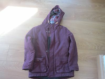 Next SP Girls Purple Coat age 9-10 - USED Good Condition