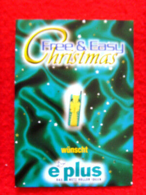 E-PLUS PIN **FREE & EASY CHRISTMAS-HANDY** RAR !! Mobilfunk NEU !!! OVP !!!